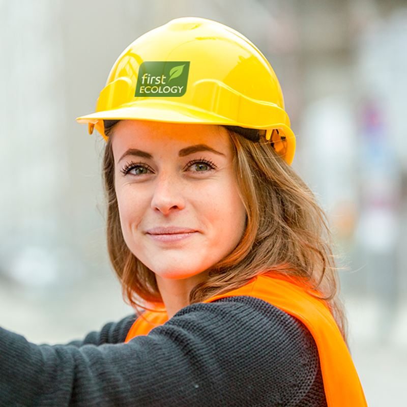 FIRST ECOLOGY hard hat