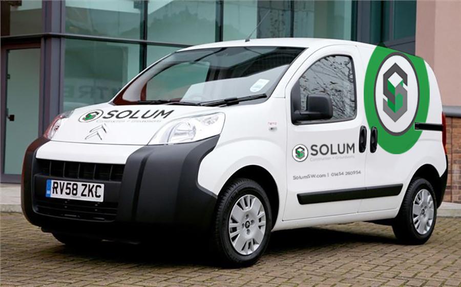 SOLUM Van graphic